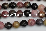 CTO358 15.5 inches 9mm round natural tourmaline gemstone beads