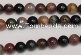 CTO365 15.5 inches 7mm round natural tourmaline gemstone beads
