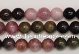 CTO366 15.5 inches 9mm round natural tourmaline gemstone beads