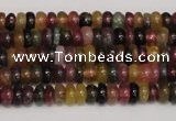 CTO375 15.5 inches 2*5mm rondelle natural tourmaline gemstone beads