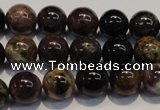 CTO403 15.5 inches 11mm round natural tourmaline gemstone beads