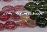 CTO421 15 inches 7*9mm oval natural tourmaline beads wholesale