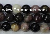 CTO454 15.5 inches 8mm round natural tourmaline gemstone beads