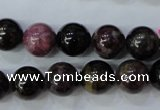 CTO456 15.5 inches 11mm round natural tourmaline gemstone beads