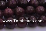 CTO501 15.5 inches 5mm - 5.5mm round natural red tourmaline beads
