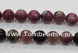 CTO64 15.5 inches 9mm round natural tourmaline gemstone beads