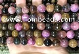 CTO689 15.5 inches 11mm round tourmaline beads wholesale
