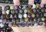 CTO698 15.5 inches 10mm round tourmaline gemstone beads
