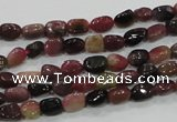 CTO70 15.5 inches 5*6mm nuggets natural tourmaline gemstone beads