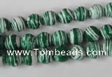 CTU1127 15.5 inches 8mm round synthetic turquoise beads wholesale