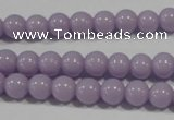 CTU1402 15.5 inches 6mm round synthetic turquoise beads