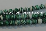 CTU2041 15.5 inches 6mm round synthetic turquoise beads