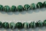 CTU2042 15.5 inches 8mm round synthetic turquoise beads