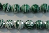 CTU2043 15.5 inches 10mm round synthetic turquoise beads