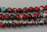 CTU2181 15.5 inches 6mm round synthetic turquoise beads