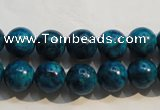 CTU2413 15.5 inches 10mm round synthetic turquoise beads