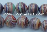 CTU243 16 inches 14mm round imitation turquoise beads wholesale