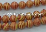CTU286 16 inches 8mm round imitation turquoise beads wholesale