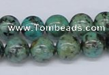 CTU429 15.5 inches 12mm round African turquoise beads wholesale