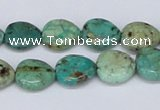CTU452 15.5 inches 13*13mm heart African turquoise beads wholesale