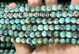 CTU571 15.5 inches 6mm round african turquoise beads wholesale