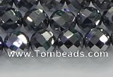 CTZ612 15.5 inches 8mm faceted round terahertz beads wholesale