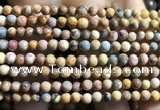CVJ01 15.5 inches 4mm round venus jasper beads wholesale