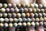 CVJ03 15.5 inches 8mm round venus jasper beads wholesale