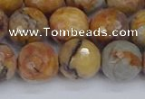 CVJ25 15.5 inches 12mm faceted round venus jasper beads wholesale