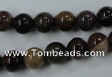 CWJ203 15.5 inches 10mm round wood jasper gemstone beads wholesale