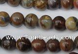 CWJ273 15.5 inches 10mm round wood jasper gemstone beads wholesale