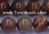 CWJ435 15.5 inches 14mm round wood jasper beads wholesale