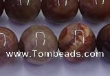 CWJ436 15.5 inches 16mm round wood jasper beads wholesale