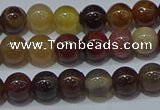 CWJ501 15.5 inches 6mm round Xinjiang wood jasper beads wholesale