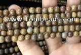 CWJ563 15.5 inches 6mm round wood jasper beads wholesale