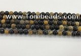 CWJ581 15.5 inches 7mm round wooden jasper beads wholesale
