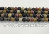 CWJ582 15.5 inches 9mm round wooden jasper beads wholesale