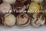 CZJ274 15.5 inches 12mm round zebra jasper beads wholesale