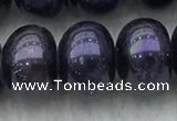 FWP330 15 inches 11mm - 12mm button black freshwater pearl strands