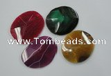 NGP1251 40*50mm - 55*60mm freeform agate gemstone pendants wholesale