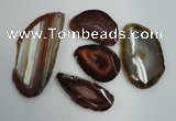 NGP1260 35*45mm - 50*80mm freeform agate gemstone pendants wholesale