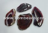 NGP1263 35*50mm - 45*65mm freeform agate gemstone pendants wholesale