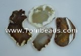 NGP1269 35*50mm - 55*75mm freeform agate gemstone pendants wholesale