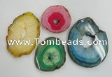NGP1276 45*55mm - 70*90mm freeform agate gemstone pendants wholesale