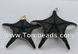 NGP2766 50*55mm - 75*85mm starfish pendants wholesale