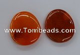 NGP3230 42*52mm - 45*55mm freeform agate gemstone pendants