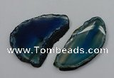 NGP4260 35*50mm - 45*80mm freefrom agate pendants wholesale