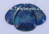 NGP67 Fashion chrysocolla gemstone pendants set jewelry wholesale