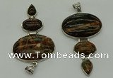 NGP8036 50*82mm - 52*86mm Africa stone pendant set jewelry