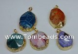 NGP8695 28*35mm - 30*40mm freeform agate pendants wholesale